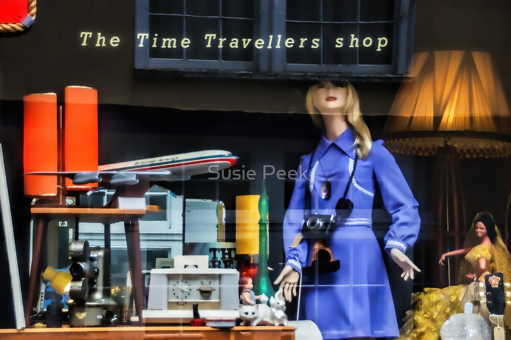 The Time Travellers Shop by Susie Peek