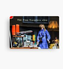 The Time Travellers Shop Canvas Print