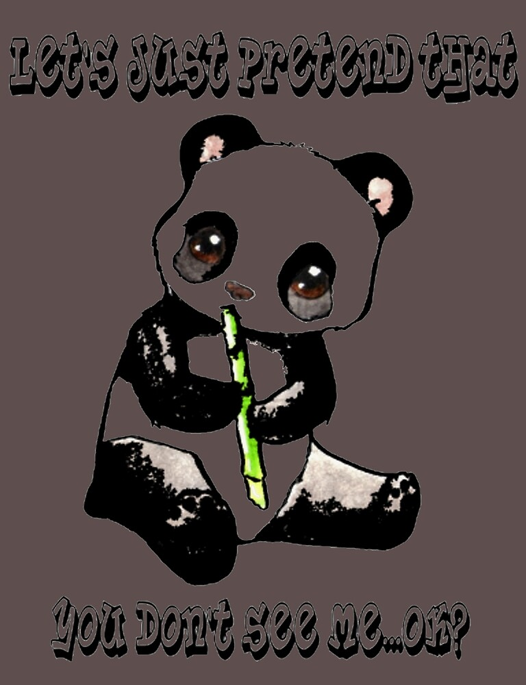 Semi-Invisible Panda Design! by Whocares9119