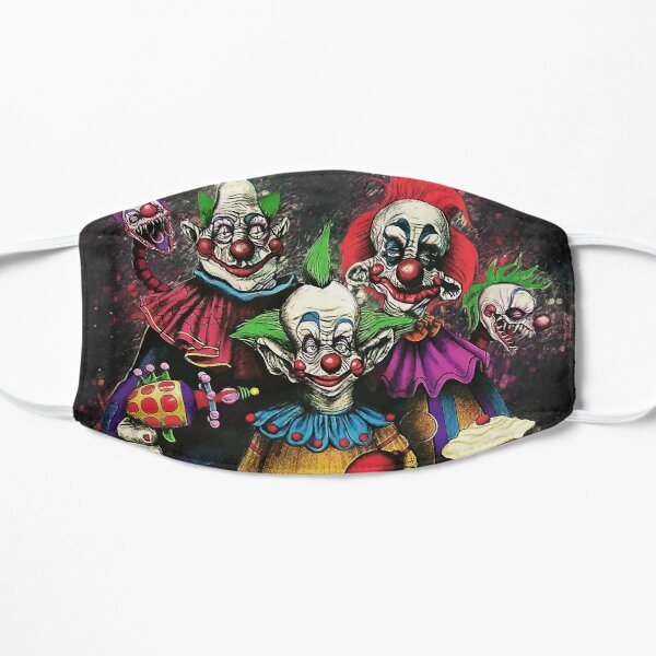 Killer Klowns From Outer Space Flat Mask