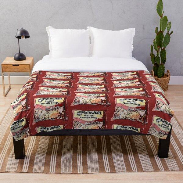 Beef Ramen Throw Blanket