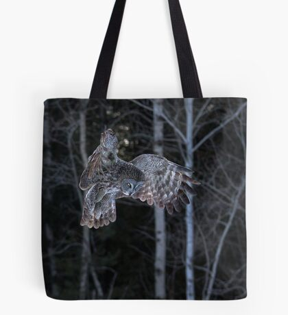 Hover - Great Grey Owl Tote Bag