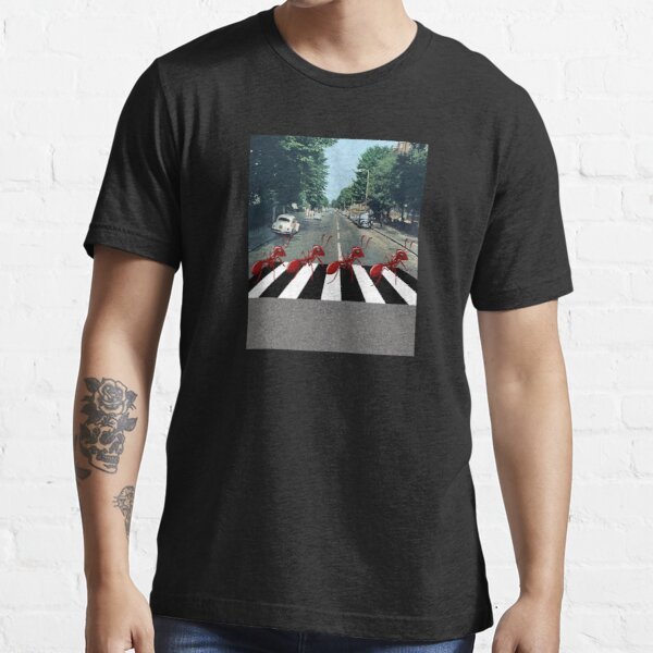 Ants Marching Down Abbey Road Essential T-Shirt