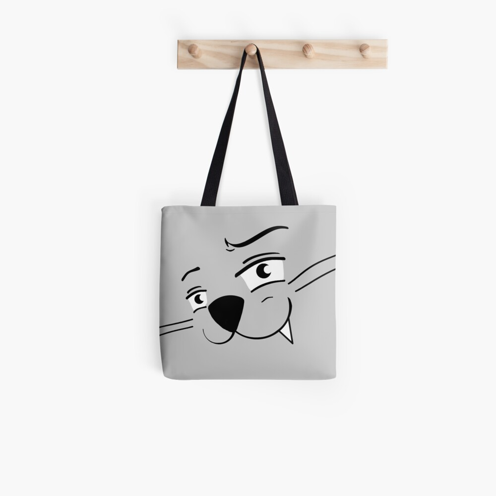 Tote bag «Poussin-chat Grey Style»