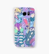 joseph joestar & caesar zeppeli tshirt & phone cases Samsung Galaxy Case/Skin