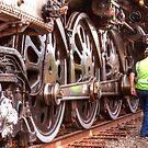 Train Wheels HDR by George Lenz