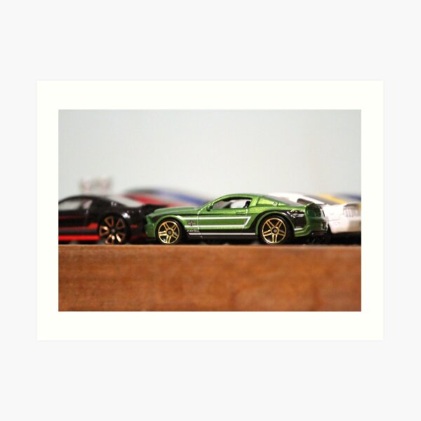 Collectible Mustangs  Art Print