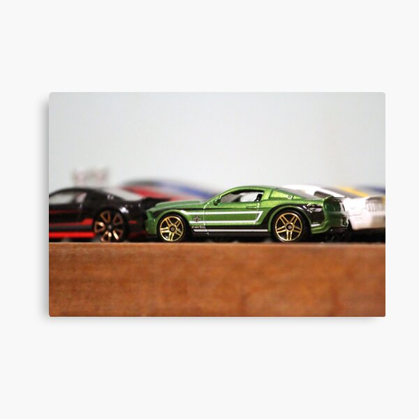 Collectible Mustangs  Canvas Print