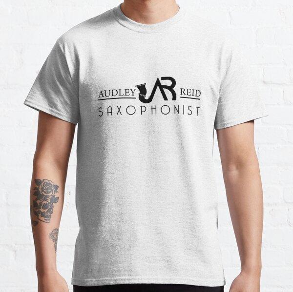 Audley Reid Saxophonist: White Series Classic T-Shirt