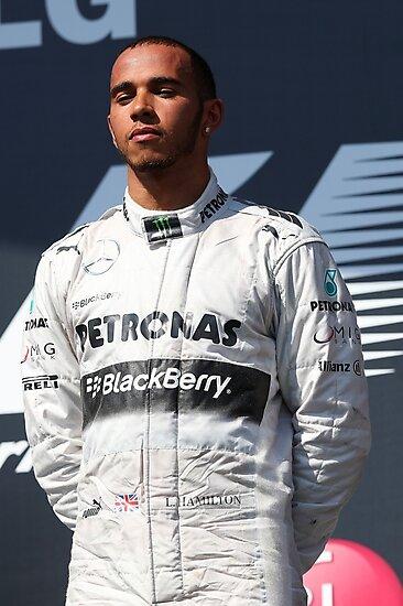 Lewis Hamilton by Srdjan Petrovic