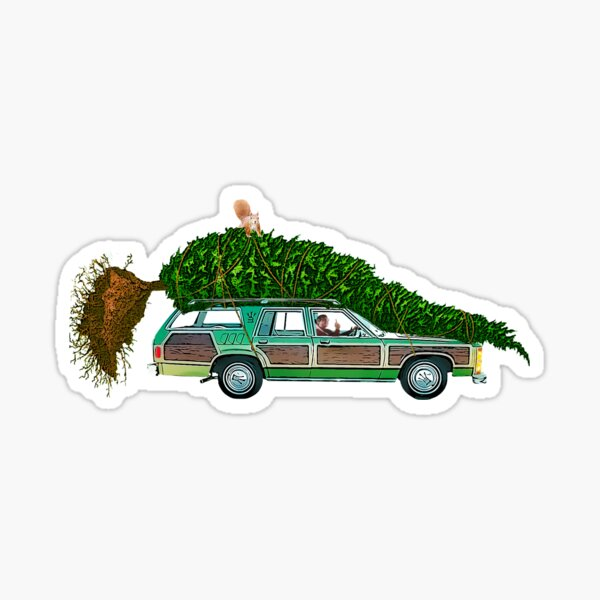 National Lampoon's - Christmas Car Only Sticker