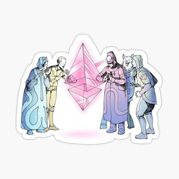 Ethereum Governance Digital Art Sticker