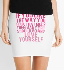 Love Yourself Mini Skirt