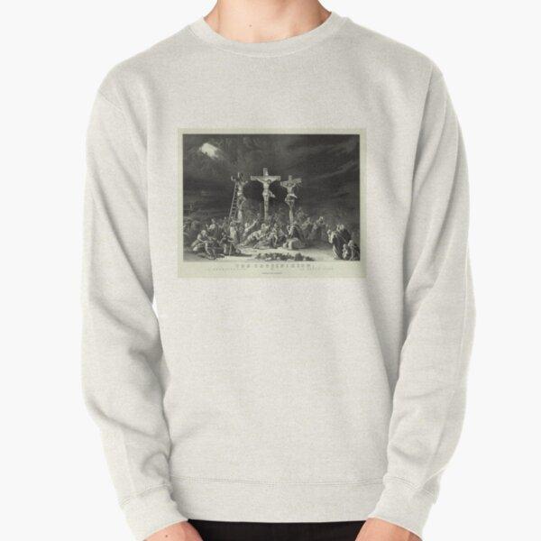 The Crucifixion / La Crucificazion / La Crucifixion (1849) Pullover Sweatshirt