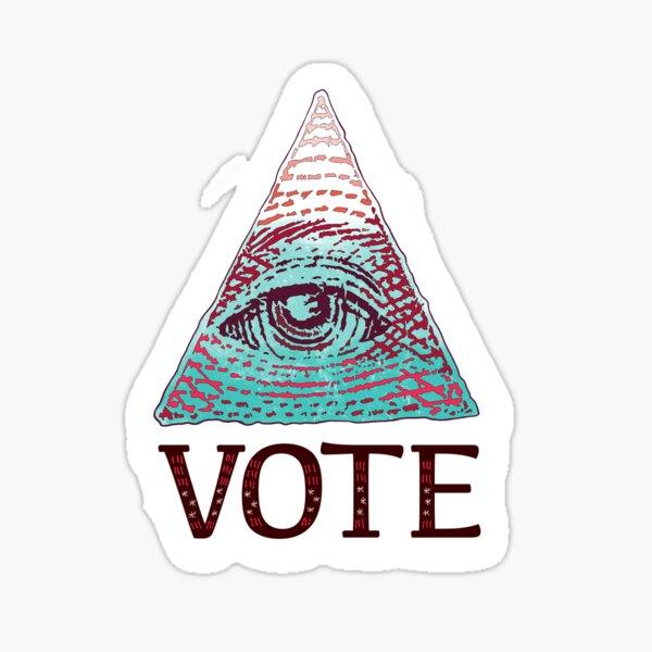 VOTE Glossy Sticker