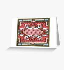 Love 4 leaf clover patchwork gifts Greeting Card
