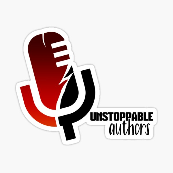 Unstoppable Authors Logo Sticker
