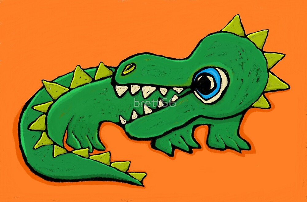 The Baby Dragon by brett66