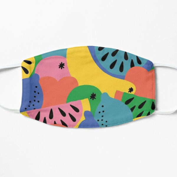 Fruits Tropical Delight Flat Mask