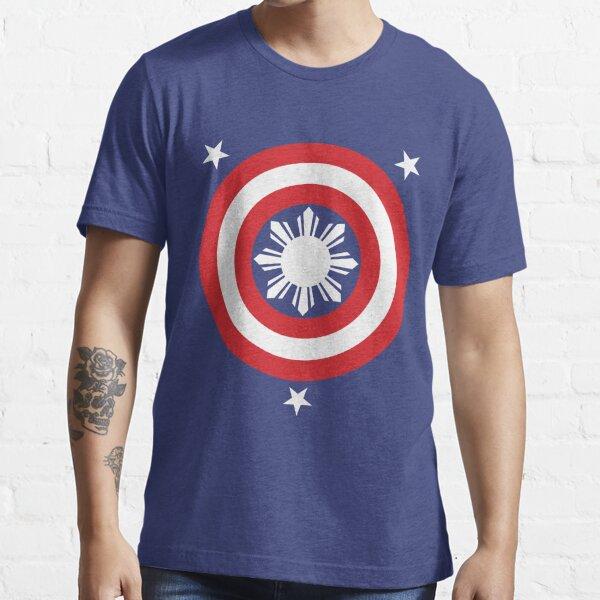 Captain Philippines! (White Sun) Essential T-Shirt