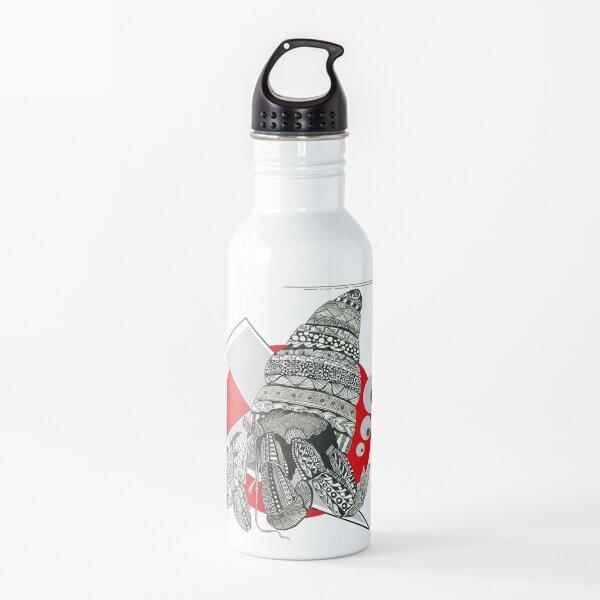 Diseño de concha tribal Botella de agua