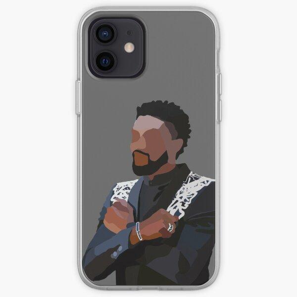 En honor a Chadwick Boseman, Wakanda Forever Funda blanda para iPhone