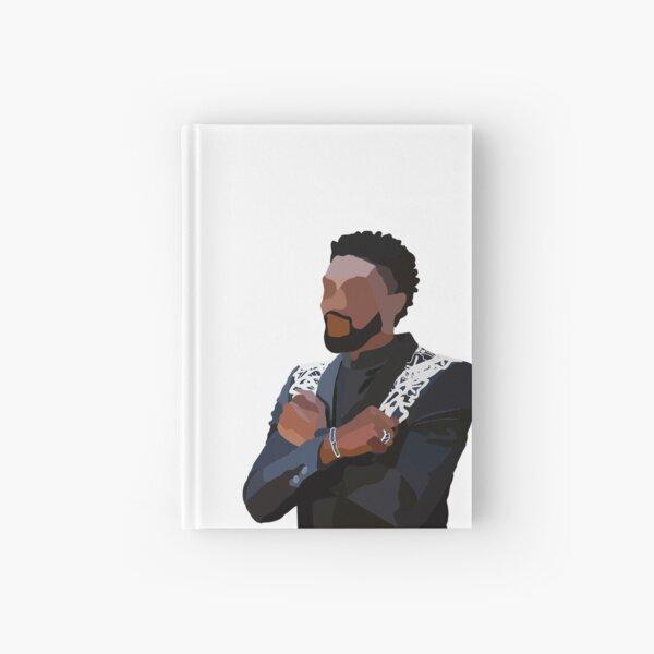 In Honor of Chadwick Boseman, Wakanda Forever Hardcover Journal