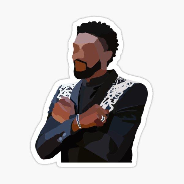 In Honor of Chadwick Boseman, Wakanda Forever Sticker