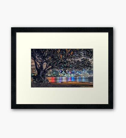 Balmain Tree Framed Print