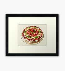 strawberry Tart Framed Print