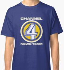 Channel 4 News Team (ANCHORMAN) Classic T-Shirt