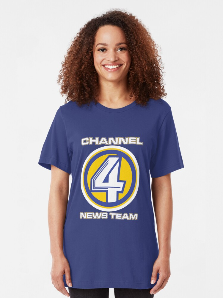 Channel 4 News Team (ANCHORMAN) | Slim Fit T-Shirt