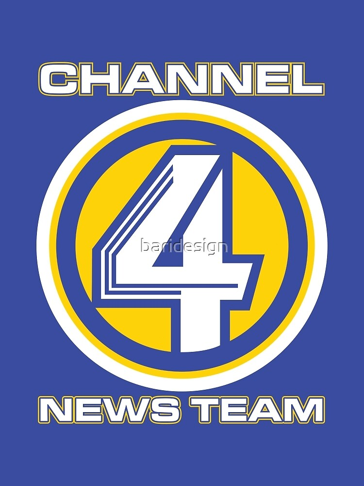 Channel 4 News Team (ANCHORMAN) by baridesign