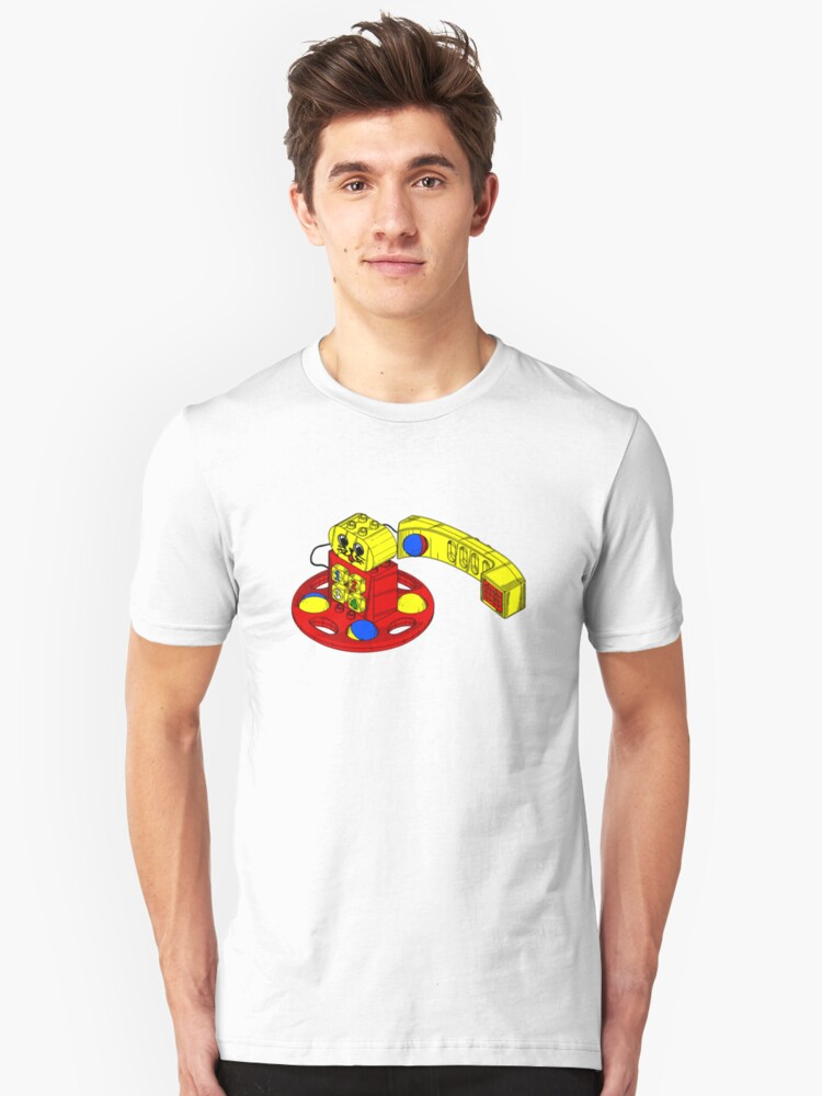 The Duplo Telephone Rattle In Original Version Unisex T-Shirt Front
