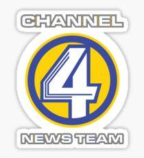 Channel 4 News Team (ANCHORMAN) Sticker