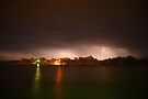Thunderstorm on the Hasting River by Sandro Rossi