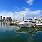 Southport Yacht Club. Gold Coast, Queensland, Australia. by Ralph de Zilva