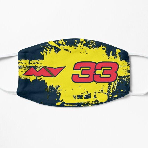 Masque Max Verstappen Red Bull F1 Masque sans plis