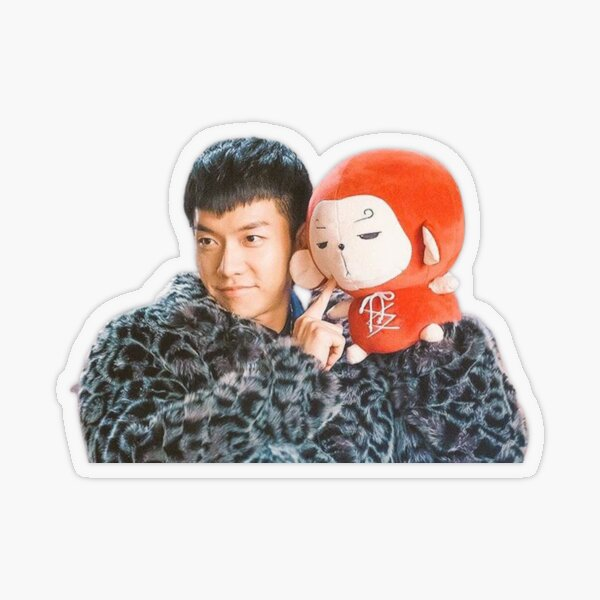 Lovely Song Oh Gong Transparent Sticker