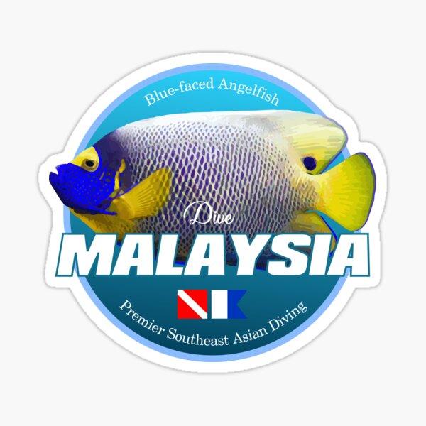 Dive Malaysia (DD2) Sticker