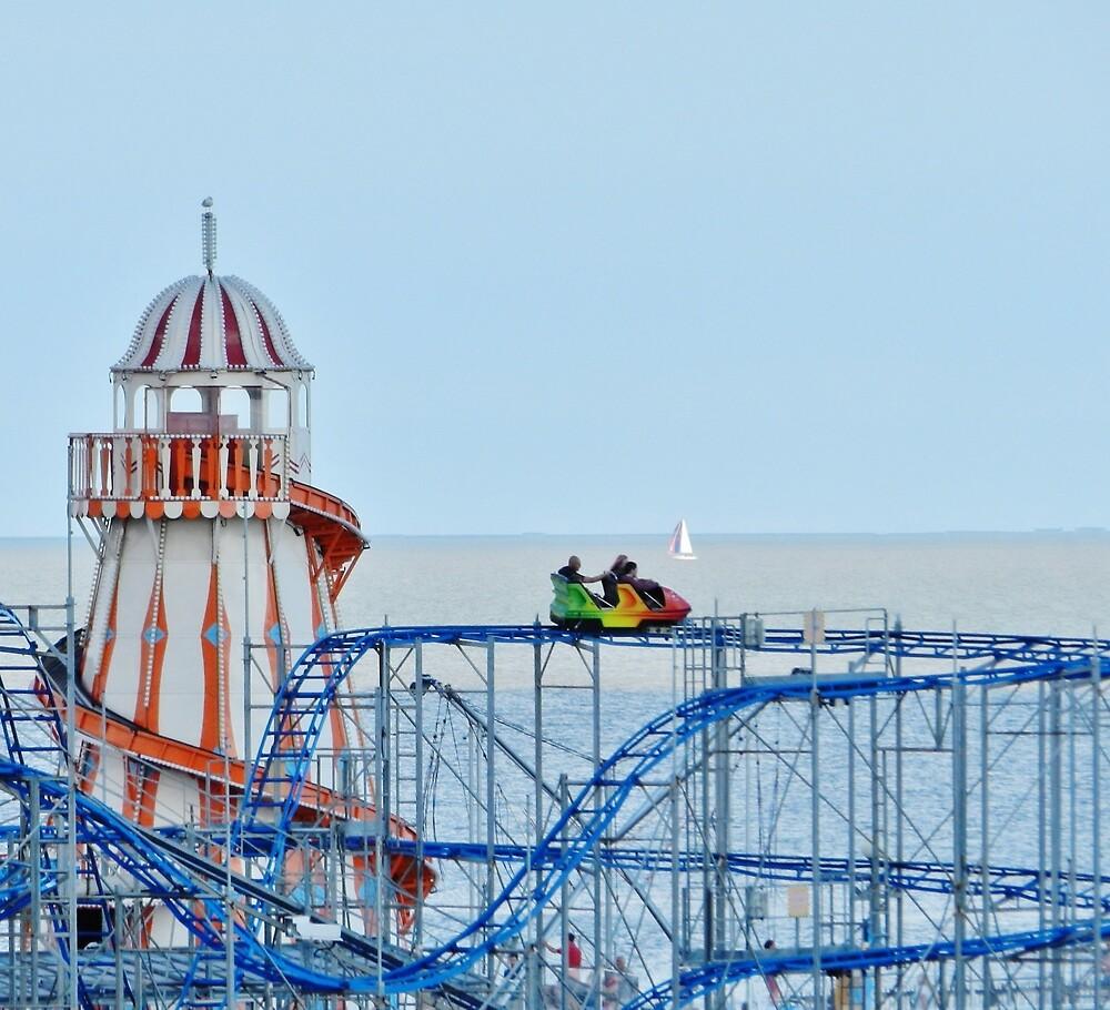 Clacton pier by TOFFS