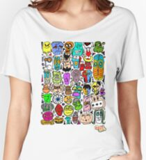 CRAZY DOODLE 2 Women's Relaxed Fit T-Shirt