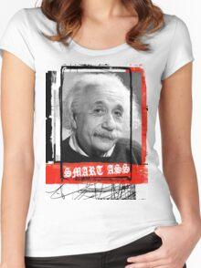 SMART ASS Women's Fitted Scoop T-Shirt