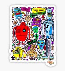 CRAZY DOODLE 3 Sticker