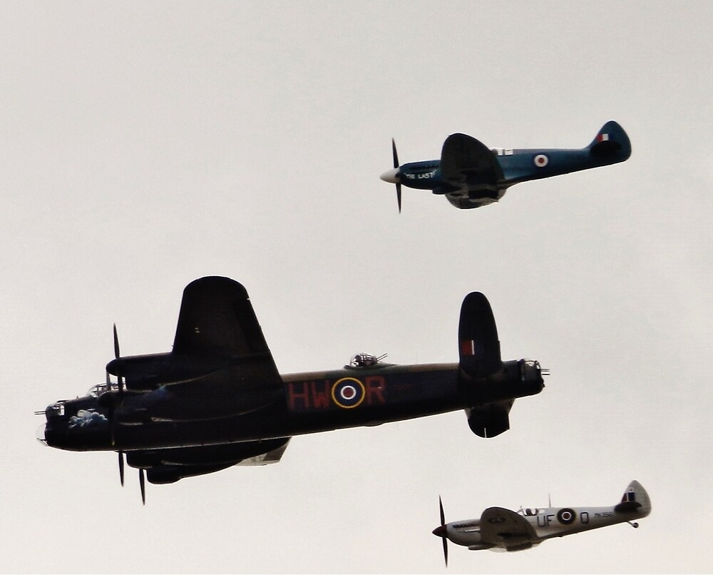 Battle of Britian fly past by TOFFS