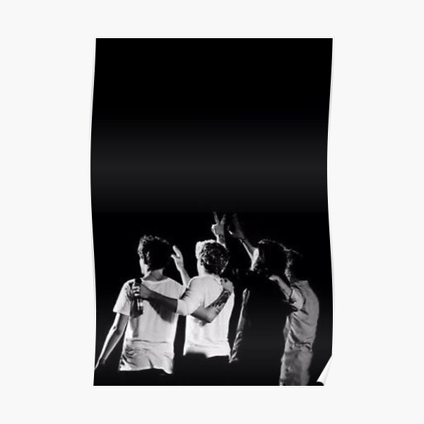 Black & White One Direction Poster