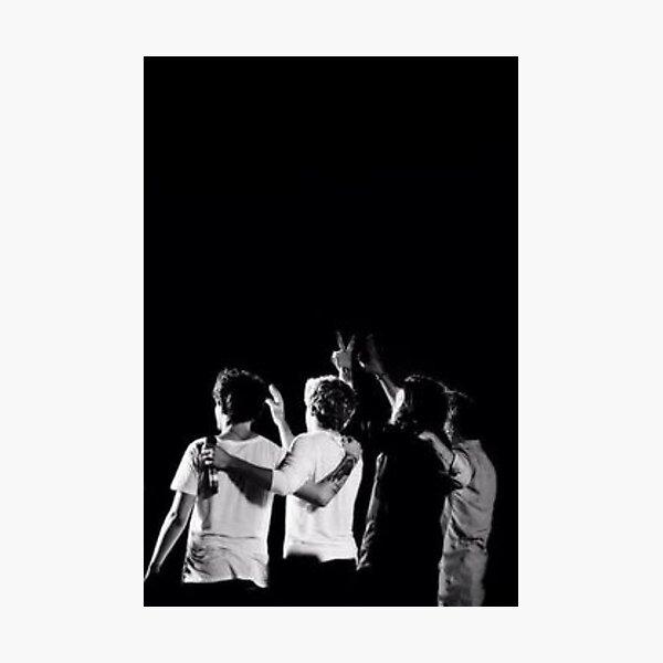 Black & White One Direction Photographic Print
