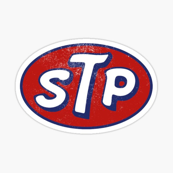 STP March Logo Vintage Pegatina