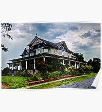 Civil War Era Home Poster