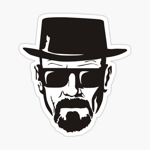 Walter White the Dangerous Sticker